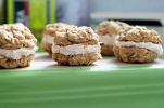 Pipe Dream #14: To Be Little Debbie -  Oatmeal Cream Pies with Cinnamon Buttercream
