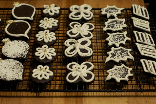 dark choc sugar cookies a