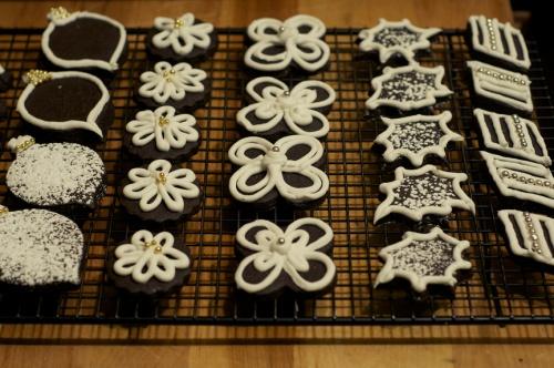 dark choc sugar cookies a
