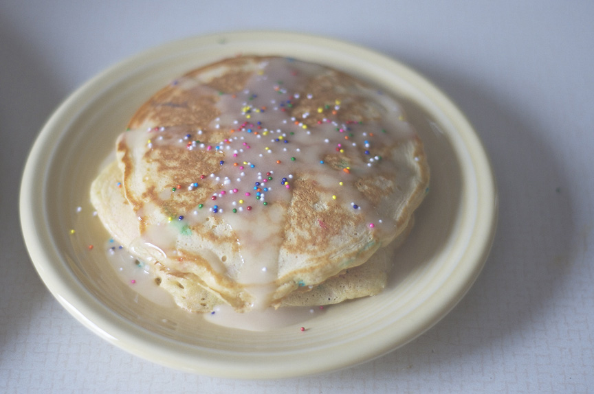 ... Dream #185: To Fake Taste? – Cake Batter Pancakes | piping dreams