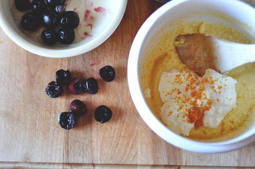 cherry muffins 1