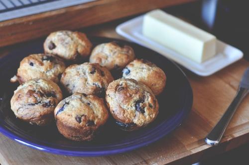 cherry muffins 4