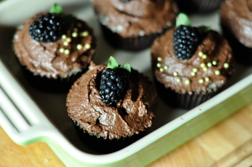 ganache cupcakes 4