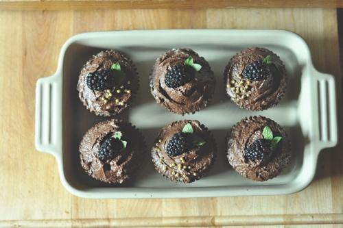 ganache cupcakes 6