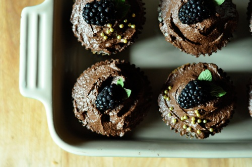 ganache cupcakes 7