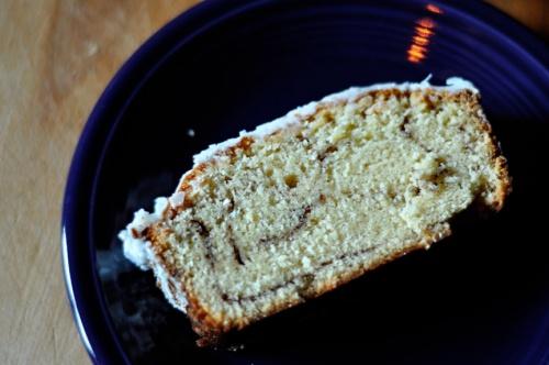 cinn roll pound cake 3