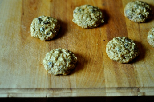 rolled oat cookies 3
