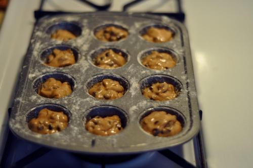 gf pb muffins 3