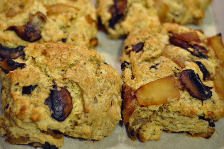 ... : To Be a Better Butterer – Caramelized Mushroom and Onion Biscuits