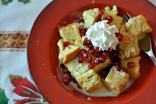 white choc bread pudding 2