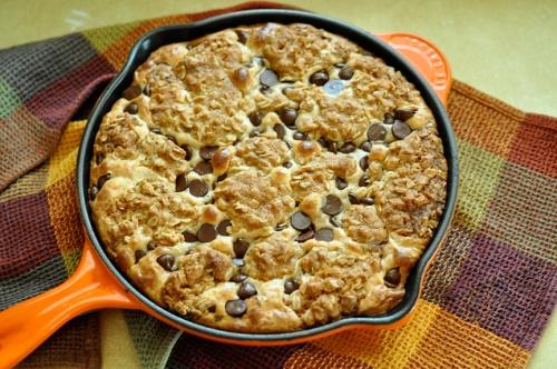 oatmeal pb skillet 3