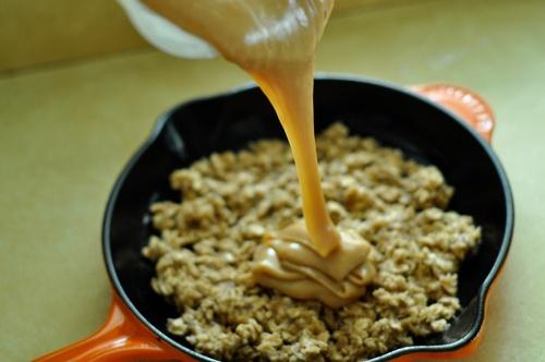 oatmeal pb skillet 4