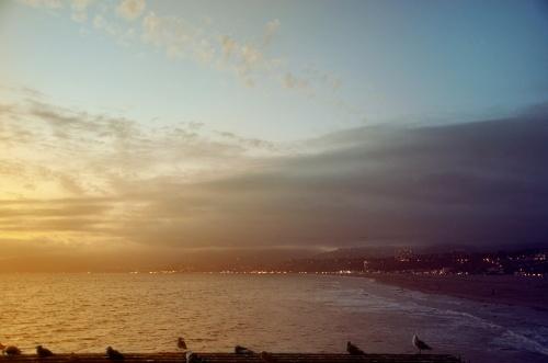 santa monica sunset 2 low res