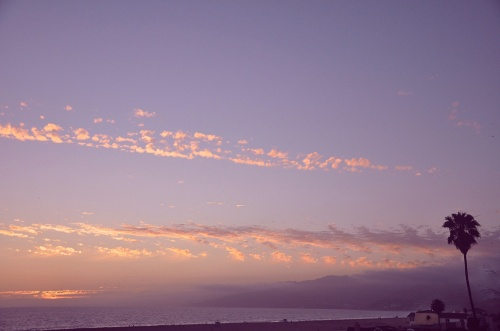 santa monica sunset low res