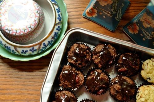 almond muffins 1