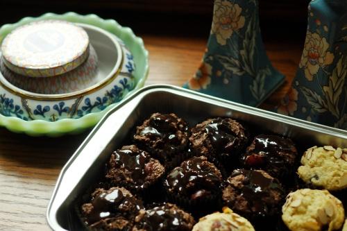 almond muffins 2