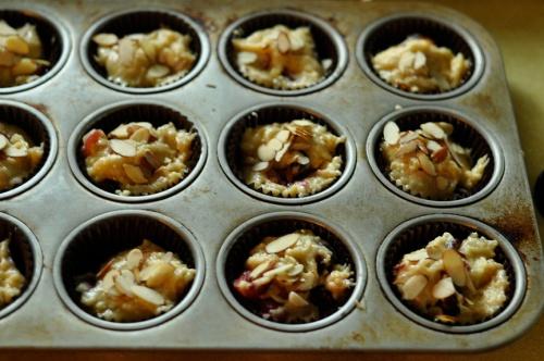 almond muffins 6